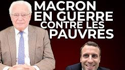 Macron en guerre contre les pauvres ?