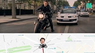 """""""Mission Impossible 6"""" : Les incohérences de la course poursuite à moto à Paris"""