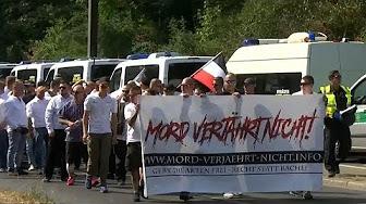 Allemagne : 2 000 policiers pour escorter 500 néonazis et barrer la route à 500 extrémistes de gauche