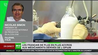Les Français de plus en plus accros aux médicaments dérivés de l'opium