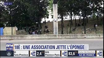 Porte de la Chapelle : un «collectif d'aide aux migrants» jette l'éponge à cause des violences