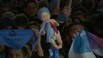 Argentine : la joie des militants pro-vie, la haine et la violence des militants pro-mort (VIDÉO)
