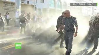 Rixe entre police et juifs ultra-orthodoxes pendant une manifestation contre la loi de conscription