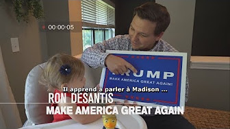 Le clip de campagne pro-Trump de Ron DeSantis qui fait le buzz !