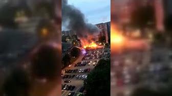 Des centaines de voitures incendiées en Suède