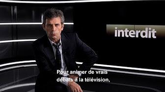 """Comment animer de vrais débats à la télévision ? Frédéric Taddeï présente """"Interdit d'Interdire"""""""