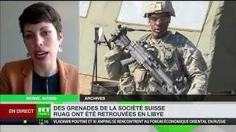 Des armes suisses retrouvées en Libye…