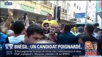 Présidentielle : le Trump brésilien poignardé en pleine rue (VIDÉO)