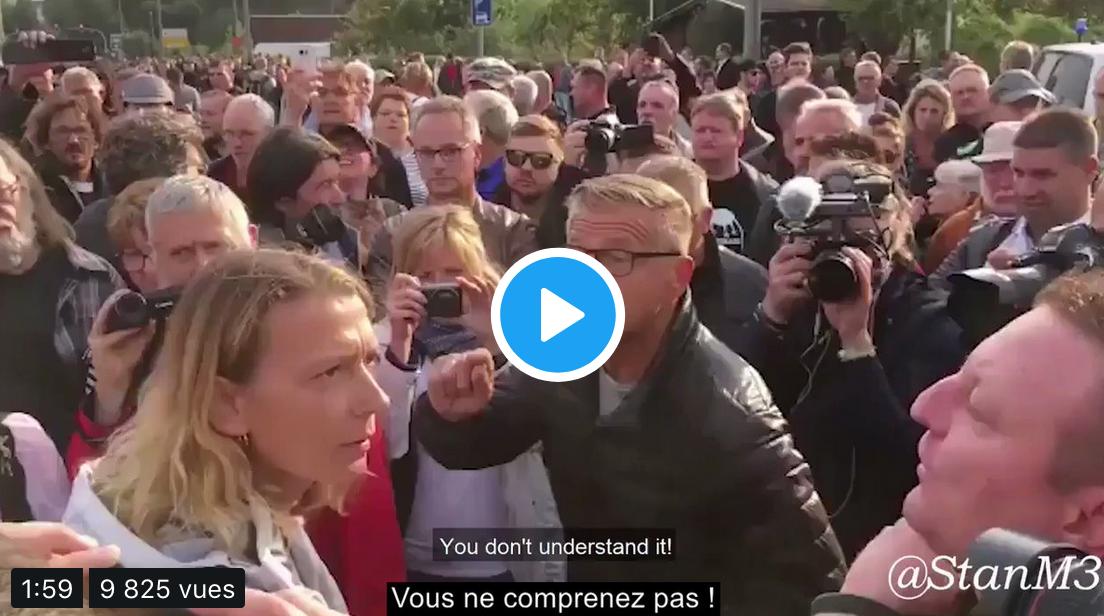 Chemnitz : une journalope à la rencontre du peuple allemand (vidéo savoureuse)