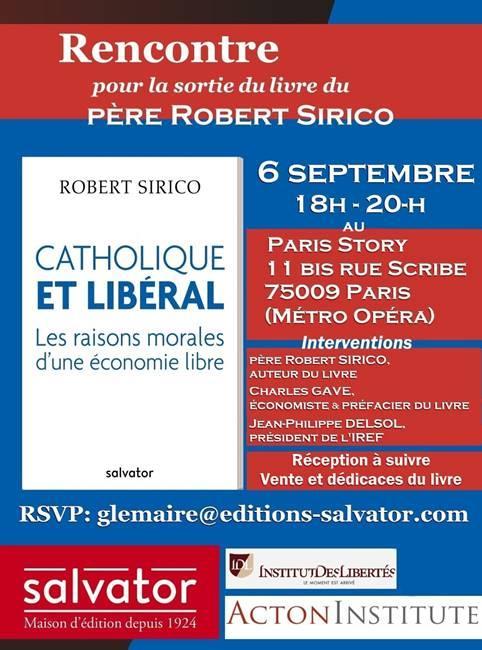 Agenda : Catholique et libéral, les raisons morales d'une économie libre