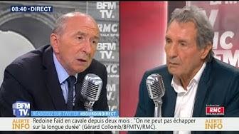 """""""Il y a une montée des attaques de pompiers dans certains quartiers"""" affirme Gérard Collomb"""