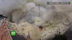 Pays-Bas : énorme explosion dans l'église Saint-Urbain à Amstelveen