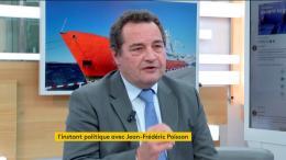 """Jean-Frédéric Poisson : """"Il fallait accueillir les 58 personnes qui sont à bord de l'Aquarius"""""""