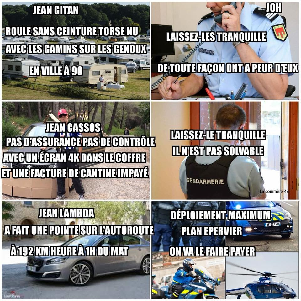 Les flics face à Jean Gitan, Jean Cassos et Jean Lambda