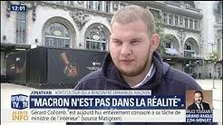 """""""Emmanuel Macron prend tout le monde de haut"""" râle l'horticulteur au chômage qui a interpellé le chef de l'État"""