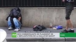 Paris : des commerçants se plaignent de l'implantation de la salle de shoot
