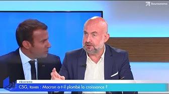 CSG, taxes : Macron a-t-il plombé la croissance ?