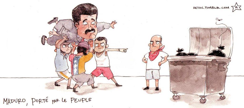 Faire cesser le calvaire du peuple vénézuélien !