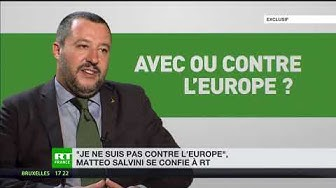 Matteo Salvini : « À Bruxelles, ils ne comprennent que le langage de l'argent »