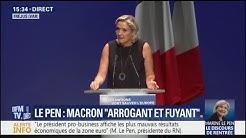 """Marine Le Pen : """"Avec nous, l'Aquarius n'accostera plus sur les côtes françaises"""""""