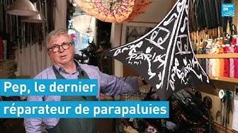 On a visité l'atelier de Monsieur Pep, le dernier réparateur de parapluies d'Europe