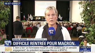 """Doutes de Stéphane Bern : """"Le président s'est entouré de cautions médiatiques"""" dénonce Nadine Morano"""