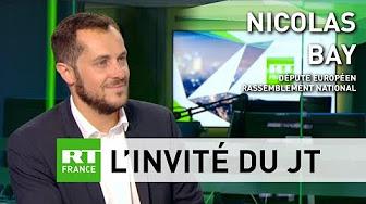 Nicolas Bay : Macron « reste arc-bouté sur ce vieux modèle daté du mondialisme »