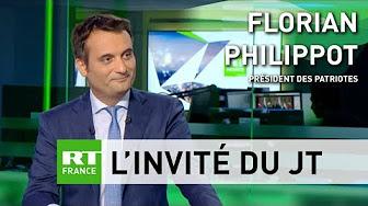 Florian Philippot : Rugy est « UE-compatible, donc il ne peut pas être écolo »