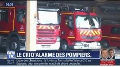 """Les pompiers alertent sur les agressions dont ils sont victimes de la part des """"chances pour la France"""""""