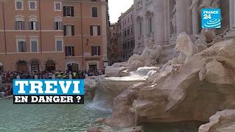 La fontaine de Trevi menacée… par le tourisme de masse