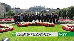 Les dirigeants européens peinent à s'accorder sur les sujets clés