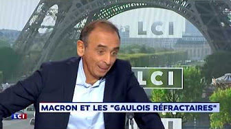 """Éric Zemmour sur LCI : """"C'est Hapsatou Sy qui dit que je suis une insulte à la France. Je lui ai simplement répondu sur le même ton"""""""