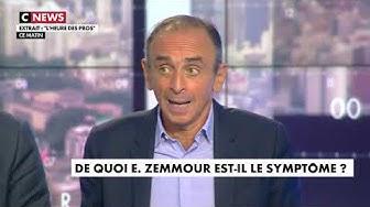 """Éric Zemmour met le feu sur le plateau de """"L'Heure des Pros"""" après son clash avec Hapsatou Sy (VIDÉO)"""