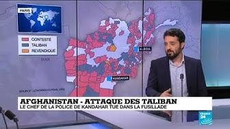 Afghanistan : les Taliban progressent dans plusieurs provinces