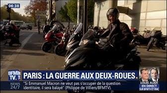 320 amendes pour stationnement gênant par jour : à Paris, la guerre aux deux-roues est déclarée