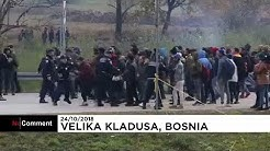 Bosnie : échauffourées entre clandestins et police