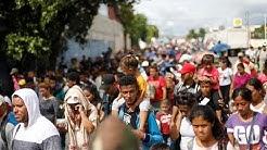Mexique et États-Unis vont tenter de stopper la caravane des clandestins