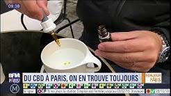 La consommation du CBD, un dérivé du cannabis, en forte hausse à Paris