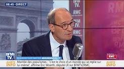 """Pour Éric Woerth (LR), """"la majorité est une majorité de gauche, elle est socialiste"""""""