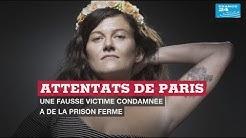 Attentats de Paris : une fausse victime condamnée à de la prison ferme