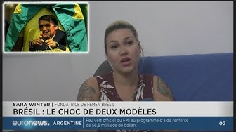 La leader de Femen Brésil soutient Bolsonaro : « Le Brésil manque d'autorité »
