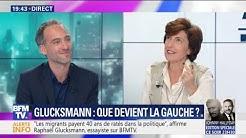"""Raphaël Glusckmann considère qu'il """"y a deux Jean-Luc Mélenchon"""""""