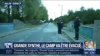 Nouvelle évacuation (la 6e en un mois !) de clandestins à Grande Synthe
