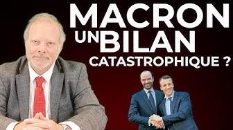 Macron : Un bilan catastrophique ? par Philippe Béchade