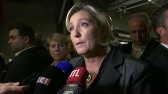 """Européennes : Marine Le Pen appelle les Français à """"voter contre Macron"""" (VIDÉO)"""