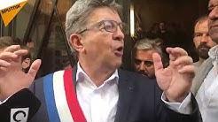 """Jean-Luc Mélenchon : """"Le gouvernement veut criminaliser l'action politique"""""""