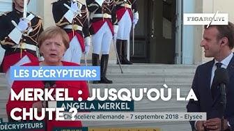 Merkel : jusqu'où ira la chute ?