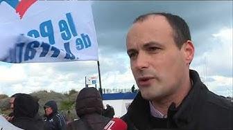 Présence de clandestins à Ouistreham : les pro et les anti face à face (VIDÉO)