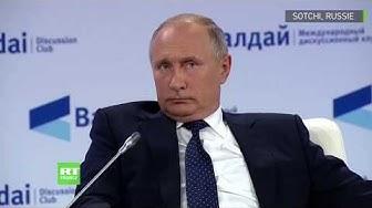 Même pas peur ! Vladimir Poutine évoque le poids de ses responsabilités politiques