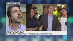 """Brésil : """"Le rêve de Bolsonaro est d'avoir le soutien de Trump"""""""